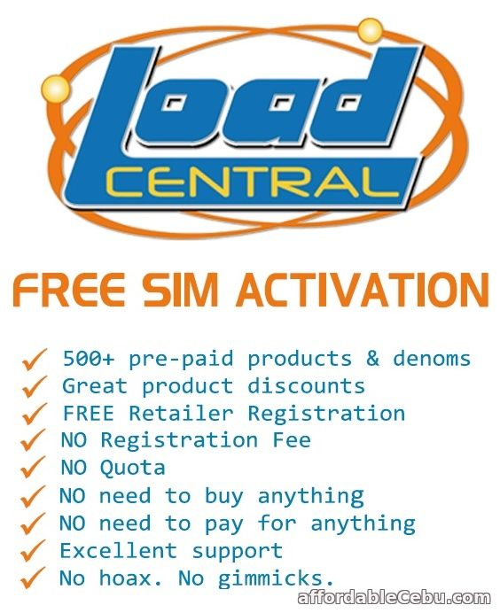 1st picture of 1 SIM ALL NETWORK E-LOADING BUSINESS Offer in Cebu, Philippines