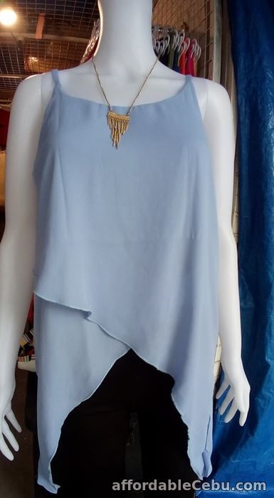 1st picture of Sleeveless blouses For Sale in Cebu, Philippines