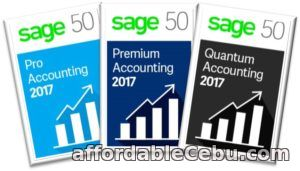 1st picture of SAGE 50 2017 For Sale in Cebu, Philippines
