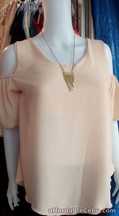 3rd picture of Cold Shoulder Blouse For Sale in Cebu, Philippines