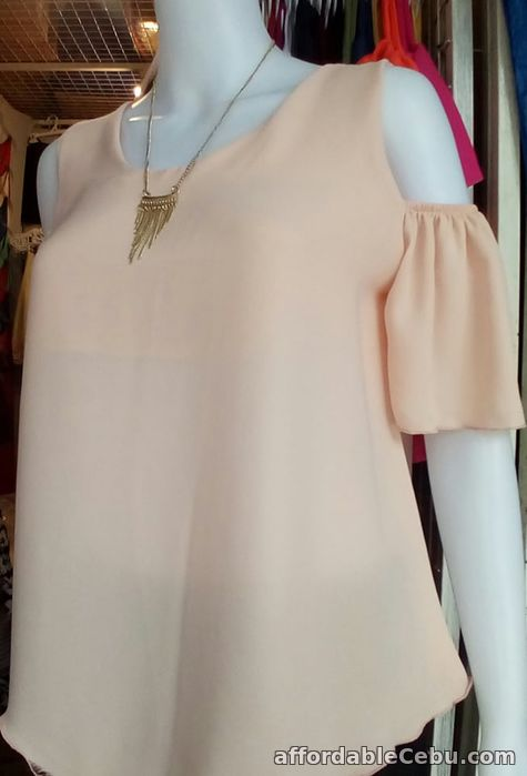 4th picture of Cold Shoulder Blouse For Sale in Cebu, Philippines