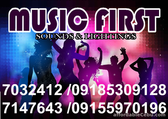 1st picture of MUSIC FIRST Professional Sound System Lights Rental Manila.@7032412,7147643,09155970196. For Rent in Cebu, Philippines