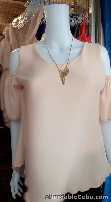 5th picture of Cold Shoulder Blouse For Sale in Cebu, Philippines