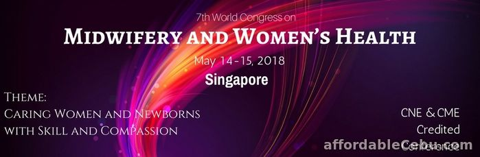 1st picture of Midwifery Congress 2018 Announcement in Cebu, Philippines