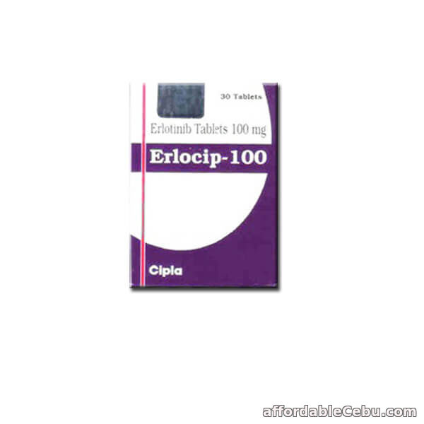 1st picture of Erlocip 100 mg : Erlotinib 100 mg Erlocip Cipla at reasonable Price For Sale in Cebu, Philippines