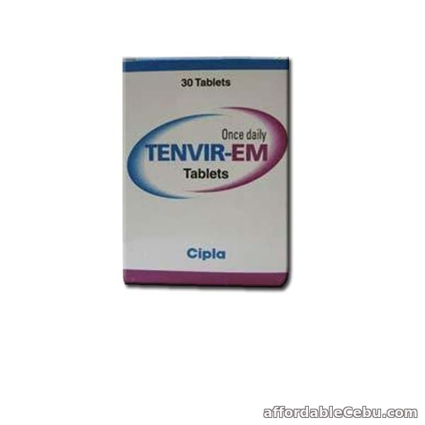 1st picture of Tenvir EM : Emtricitabine & Tenofovir Disoproxil Fumarate Tablets Price For Sale in Cebu, Philippines
