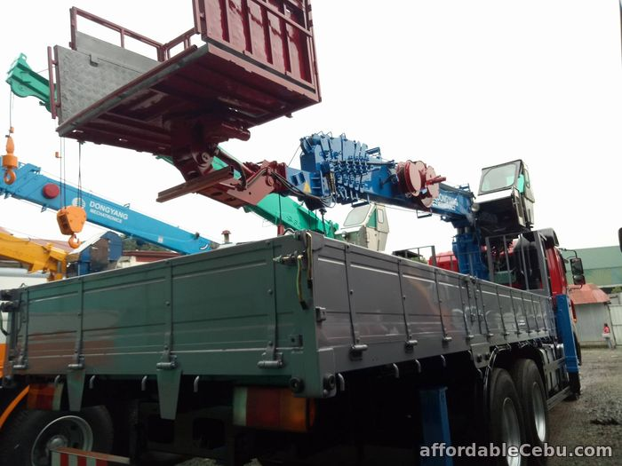 3rd picture of Crane truck or Boom truck with 8 tons capacity For Sale in Cebu, Philippines