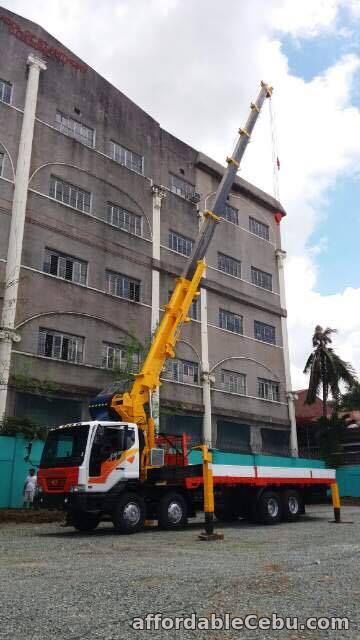 4th picture of 15 tons crane truck for sale For Sale in Cebu, Philippines