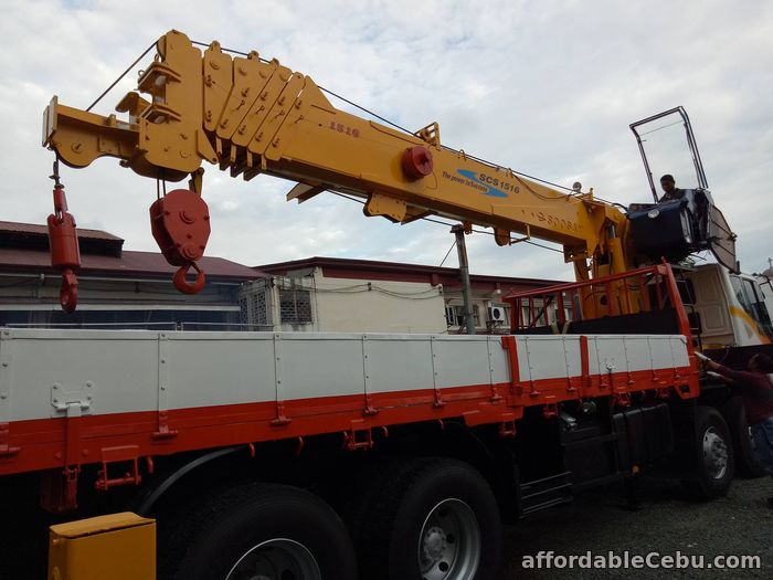 3rd picture of 15 tons crane truck for sale For Sale in Cebu, Philippines
