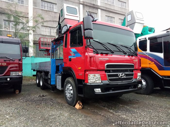 1st picture of Crane truck or Boom truck with 8 tons capacity For Sale in Cebu, Philippines
