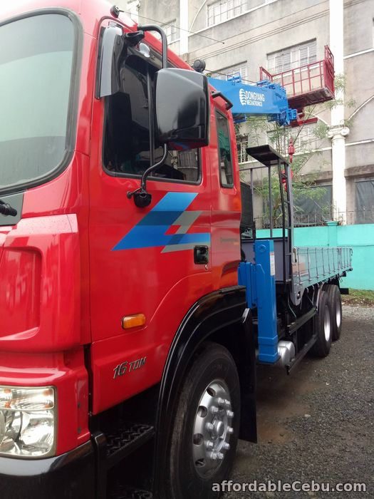 2nd picture of Crane truck or Boom truck with 8 tons capacity For Sale in Cebu, Philippines