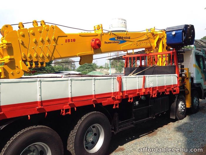 5th picture of 15 tons crane truck for sale For Sale in Cebu, Philippines