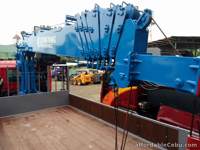 5th picture of Crane truck or Boom truck with 8 tons capacity For Sale in Cebu, Philippines