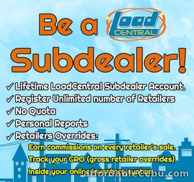 1st picture of LOADCENTRAL E-LOADING SUB-DEALER Offer in Cebu, Philippines