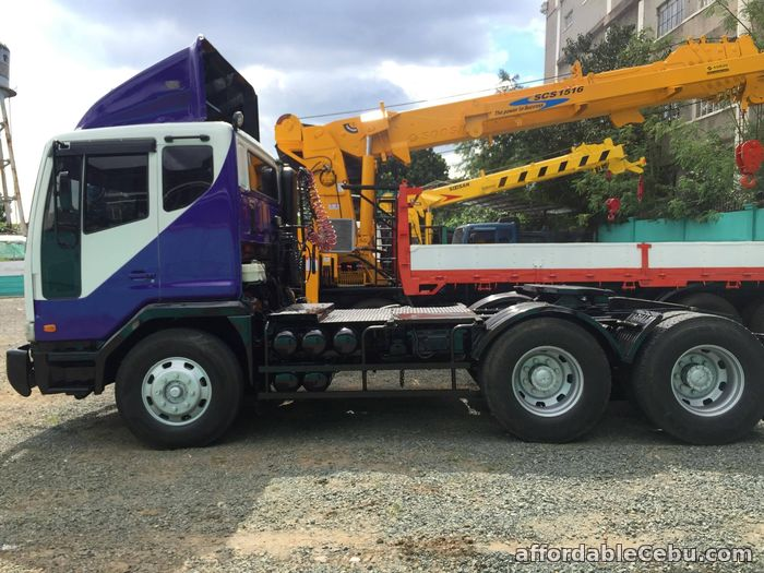 3rd picture of 10 wheeler tractor head Detroit engine For Sale in Cebu, Philippines