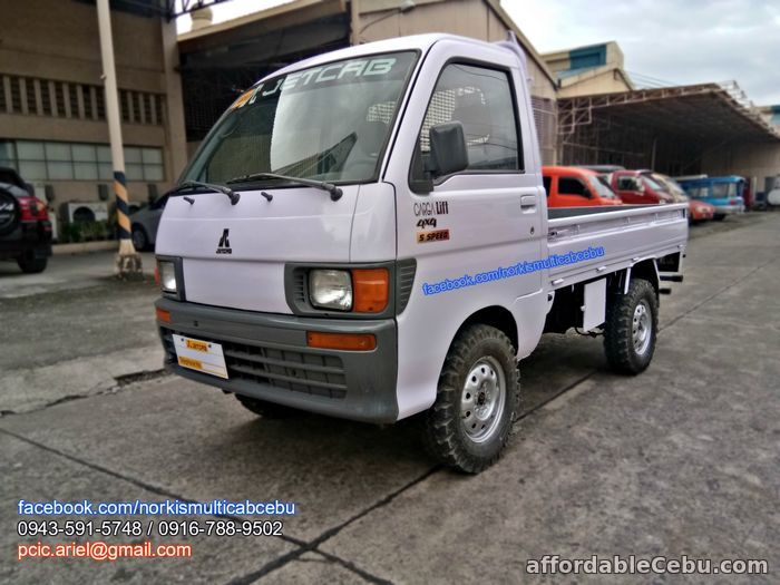 2nd picture of Multicab carga lift up 4x4, 5 speed For Sale in Cebu, Philippines