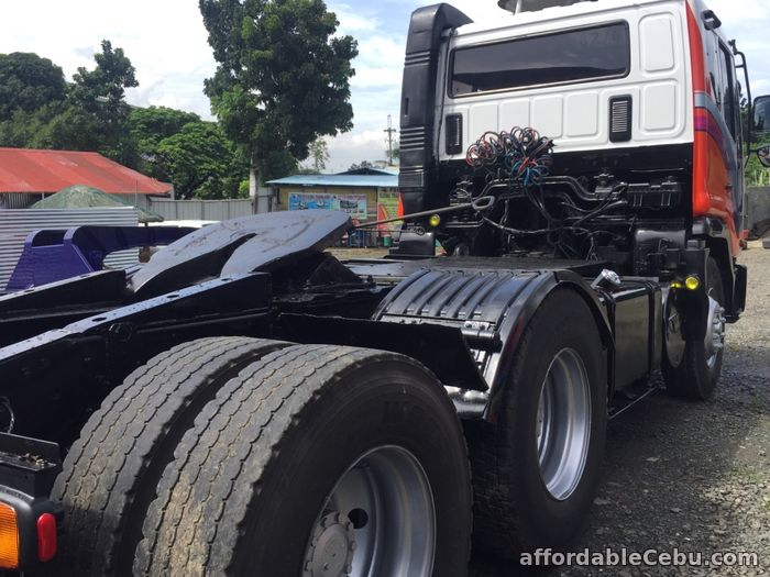 2nd picture of 10 wheeler Daewoo tractor head For Sale in Cebu, Philippines