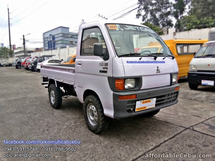 1st picture of Multicab carga lift up 4x4, 5 speed For Sale in Cebu, Philippines
