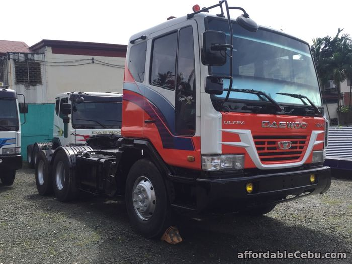 5th picture of 10 wheeler Daewoo tractor head For Sale in Cebu, Philippines