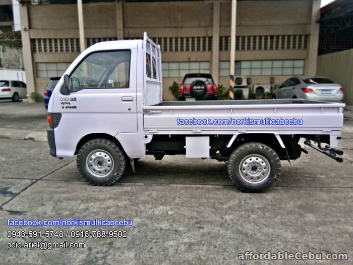 3rd picture of Multicab carga lift up 4x4, 5 speed For Sale in Cebu, Philippines