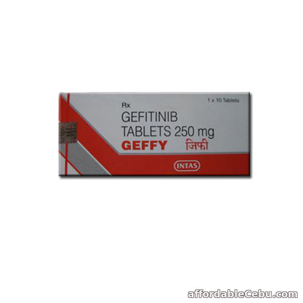 1st picture of Geffy 250mg: Gefitinib 250mg Geffy Tablets Price & Details For Sale in Cebu, Philippines