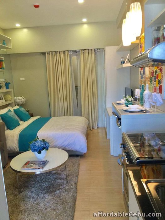 3rd picture of Almost RFO Studio Unit for sale at Sunvida Tower just in front of SM City Cebu For Sale in Cebu, Philippines