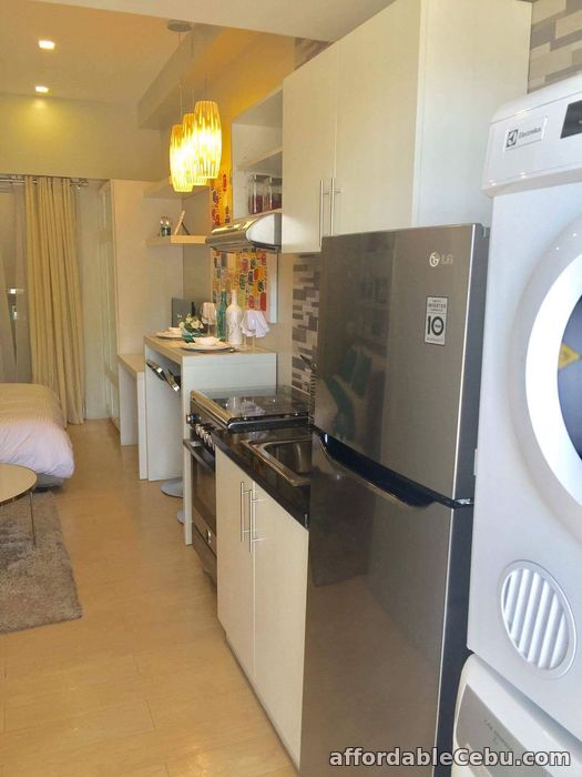 4th picture of Almost RFO Studio Unit for sale at Sunvida Tower just in front of SM City Cebu For Sale in Cebu, Philippines