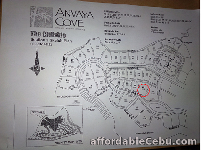 2nd picture of FOR SALE: Anvaya Cove Cliffside Lot For Sale in Cebu, Philippines