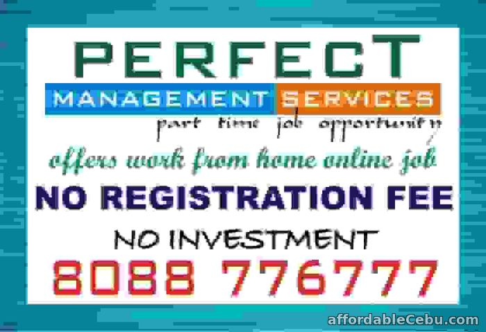 1st picture of How to work online from home | Without investment Offer in Cebu, Philippines