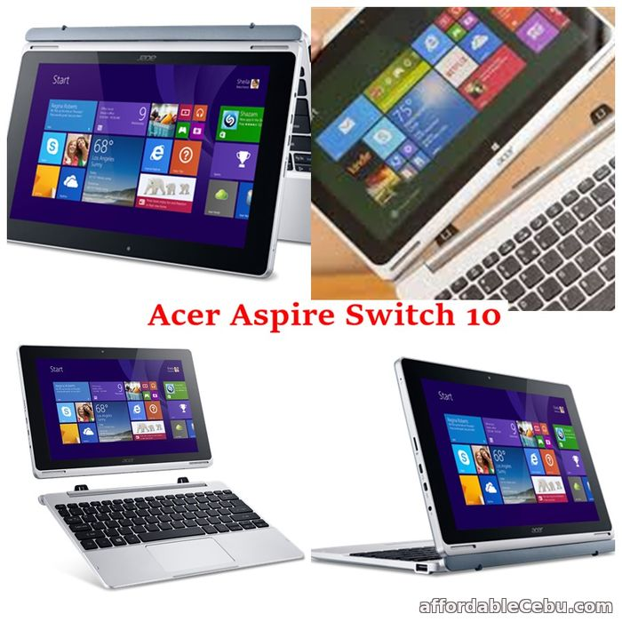 1st picture of BaratoPresyo Acer Aspire Switch 10 Table/Netbook For Sale in Cebu, Philippines