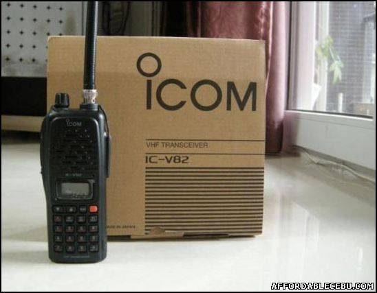 1st picture of VHF Radio ICOM IC-V82 For Sale in Cebu, Philippines