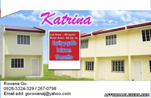 1st picture of BF Katrina Model at Php1,100,000 For Sale in Cebu, Philippines