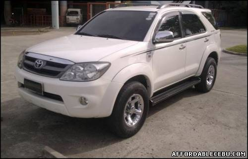 1st picture of Toyota Fortuner 4x2 matic diesel -06 For Sale in Cebu, Philippines