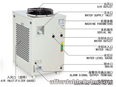 3rd picture of S&A water chiller CW-6000 with 3KW cooling capacity and environmental refrigerant For Sale in Cebu, Philippines