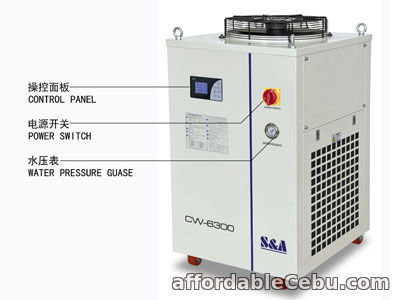 3rd picture of S&A industrial water chillers CW-6300 support ModBus communication For Sale in Cebu, Philippines