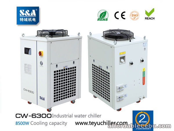 1st picture of S&A industrial water chillers CW-6300 support ModBus communication For Sale in Cebu, Philippines