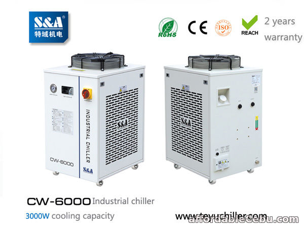 1st picture of S&A water chiller CW-6000 with 3KW cooling capacity and environmental refrigerant For Sale in Cebu, Philippines