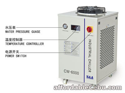 2nd picture of S&A water chiller CW-6000 with 3KW cooling capacity and environmental refrigerant For Sale in Cebu, Philippines