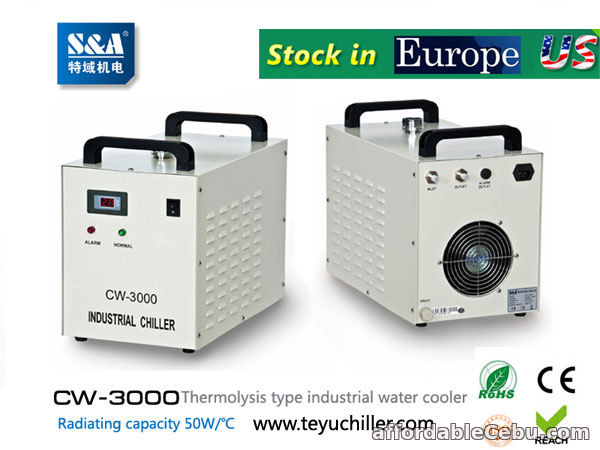 1st picture of S&A CW-3000,CW-5000,CW-5200 chiller stock in USA and Europe For Sale in Cebu, Philippines