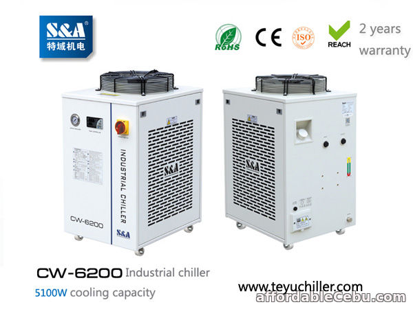 1st picture of S&A water chiller system CW-6200 with 5.1KW cooling capacity For Sale in Cebu, Philippines