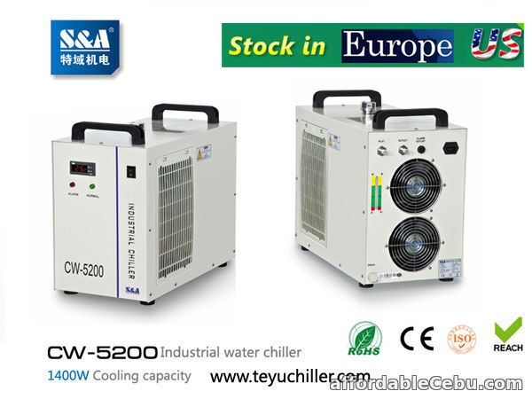 3rd picture of S&A CW-3000,CW-5000,CW-5200 chiller stock in USA and Europe For Sale in Cebu, Philippines