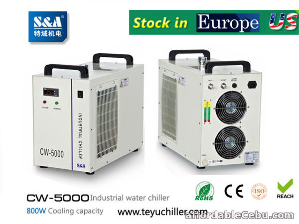 2nd picture of S&A CW-3000,CW-5000,CW-5200 chiller stock in USA and Europe For Sale in Cebu, Philippines