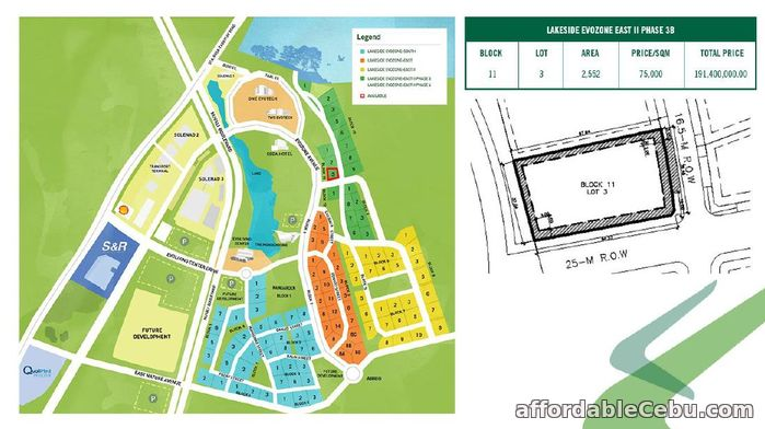 3rd picture of Nuvali Lakeside Evozone East For Sale in Cebu, Philippines