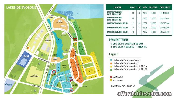 5th picture of Nuvali Lakeside Evozone South For Sale in Cebu, Philippines