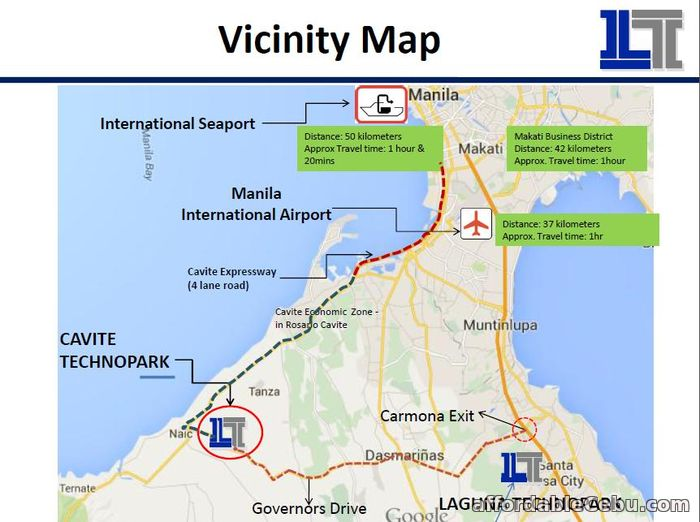 2nd picture of Cavite Technopark Industrial Lot For Sale in Cebu, Philippines