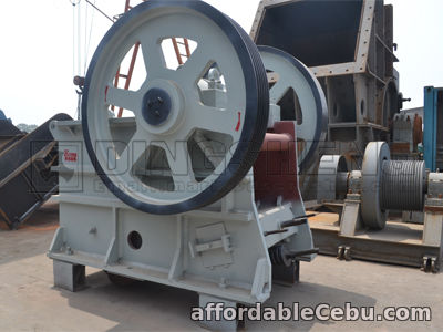 1st picture of PE Series Stone Jaw Crusher Is Best Primary Crusher For Sale in Cebu, Philippines