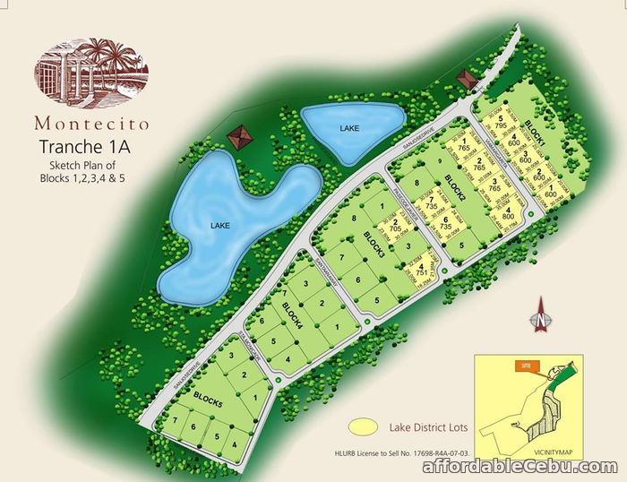 5th picture of FOR SALE: Montecito Lot For Sale in Cebu, Philippines