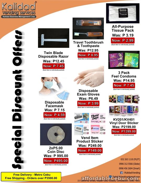 1st picture of Kalidad Vending - Special Discount Offers For Sale in Cebu, Philippines