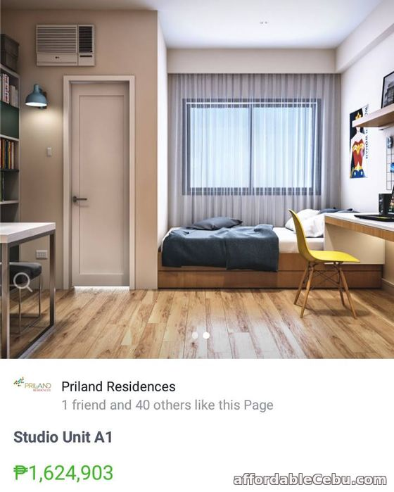 2nd picture of Gold investment in Northwoods Place as low as P3,958 a month only juse beside Ateneo School For Sale in Cebu, Philippines