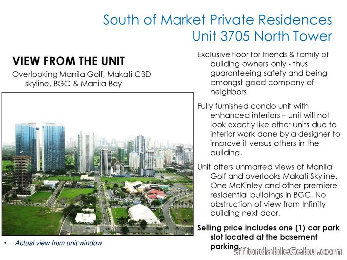 4th picture of FOR SALE: South of Market Private Residences For Sale in Cebu, Philippines